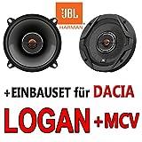 Dacia Logan + MCV - JBL GX502   2-Wege   13cm Koax Lautsprecher - Einbauset