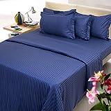 Mark Home navy blue color cotton single ...