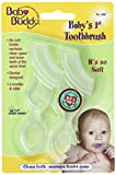 Baby Buddy Baby's 1st Toothbrush 2ct (Clear)