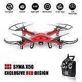 GoolRC Syma X5C Exlorers 2.4G - Dron Quadcopter de 6 ejes con control remoto y cámara HD Rojo