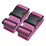 Best Samsonite Lock Keys - Luggage Straps, Adjustable Straps Travel Accessories, 2 Pack Review