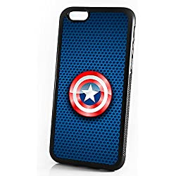 HOT10150 - Carcasa para iPhone 8 y iPhone 7, a prueba de golpes, diseño de Capitán América