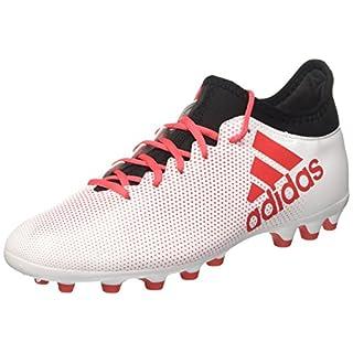 adidas Herren X 17.3 AG Fußballschuhe, Weiß (Ftwwht/Reacor/Cblack), 43 1/3 EU