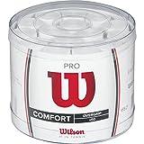 Wilson PRO WRZ4024WH, Confezione da 60 Grip Unisex-Adulto, Bianco, Taglia Unica