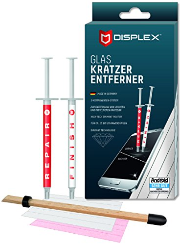Displex Glaskratzer-Entferner für Smartphones (Display Displex)