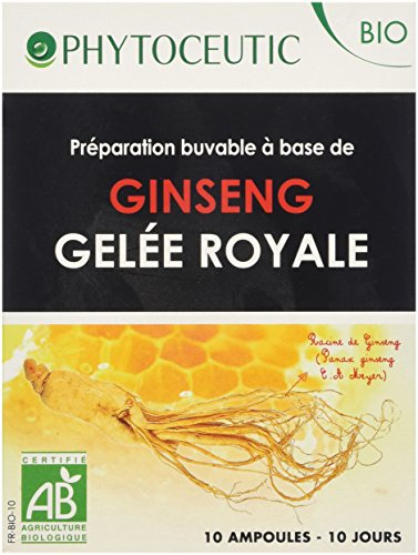 Phytoceutic Ginseng Rouge G Royale Bio 10 Ampoules