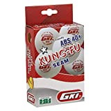 #10: GKI KUNG-FU ABS Plastic 40+ Table Tennis Ball, Pack of 12 (White)