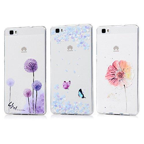 Huawei p8 lite 2016 cover silicone, kasos huawei p8 lite 2016 custodia morbida ultrasottile