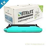1x MWT Toner für Samsung CLX 3180 3185 FW W FN N ersetzt CLT-C4072S Blau Cyan