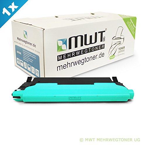 Preisvergleich Produktbild 1x MWT Toner für Samsung Xpress C 430 480 FW W FN ersetzt CLT-C404S Cyan Blau