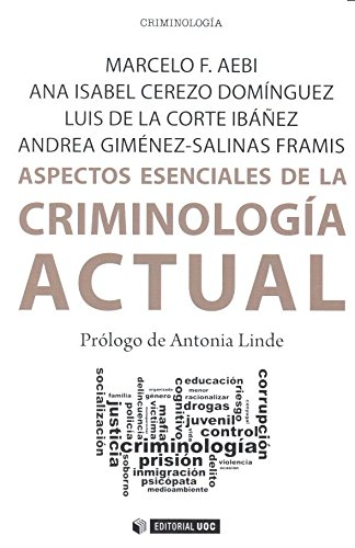 Aspectos esenciales de la criminología acutal (Manuales) por Aa.Vv.