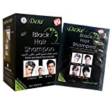 Black Hair Shampoo -Instant Hair Dye - Black Color - Simple to Use - Last 30 days -...