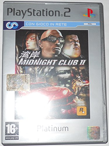Midnight Club II-(Ps2) Platinum