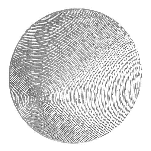 Ao Tuo Kreative Runde Tischset PVC Hitzebeständige Verschleißfeste rutschfeste Waschbar Tischset Coaster Set Für Urlaub Dekoration 38 cm -