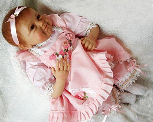 NPK 50cm Silikon Reborn Baby Doll Realistisch 20
