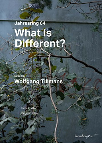 What Is Different? - Wolfgang Tillmans. Jahresring 64