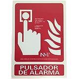 Señal de Pulsador Contra-incendios Fotoluminiscente clase B