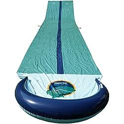 Team Magnus tobogán de agua XXL (950cm x 160cm)