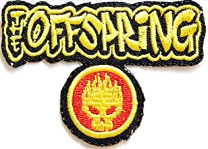 THE OFFSPRING Metal Rock Punk Music Band Logo Jacket T shirt Ecusson brode Patch Sew Iron on Embroidered