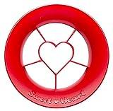 """Peleg – """"Sweet Heart""""-Ausstechform, Herzform, Farbe: rot, Inhalt pro Packung: 6 Stück"""