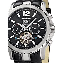 Perigaum 1972 Automatic Men's watch Open Balance Spring