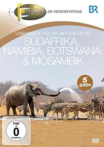 Südafrika, Namibia, Botswana & Mosambik [5 DVDs]