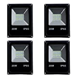 #2: MLD 20W LED Focus Outdoor Waterproof IP65 Flood Light (Cool White) - Pack of 4