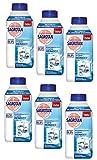 Sagrotan Waschmaschinen Hygiene Reiniger Vorteilspack Waschmittel gegen Kalk und Schmutz 1500ml (6 Flaschen à 250ml)