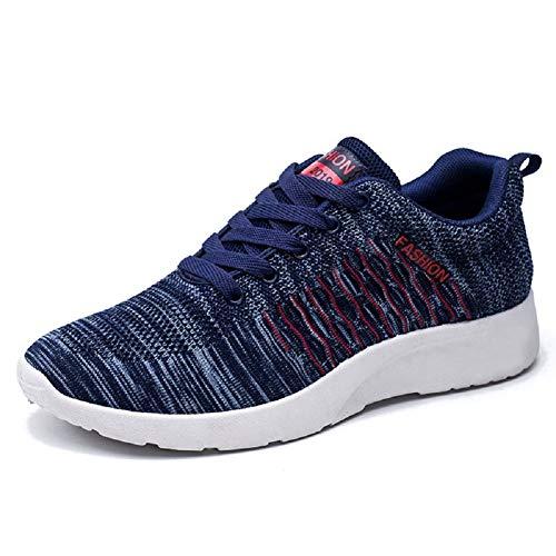 DDSHYNH Nuove Scarpe comode da Uomo 2019, Sneakers Maschili da Passeggio Leggere e Traspiranti,B,EUR40