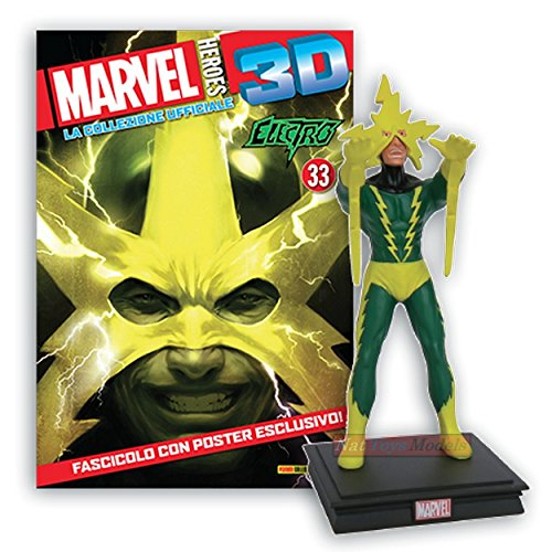 COLLEZIONI Marvel Heroes 3D Electro Resin Figure Statue Collection +fas
