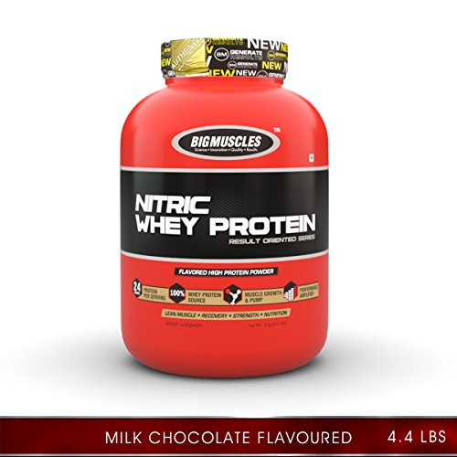 Big Muscle 100% Nitric Whey Protein, 2 Lbs  available at amazon for Rs.2609