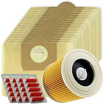 spares2go Hohe Filtration Große Beutel + Filter Kartusche