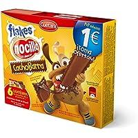 Cuetara ChocoBarra Galleta Rellena de Crema Nocilla y Cereales - Pack de 3 x 30 g - Total: 90 g