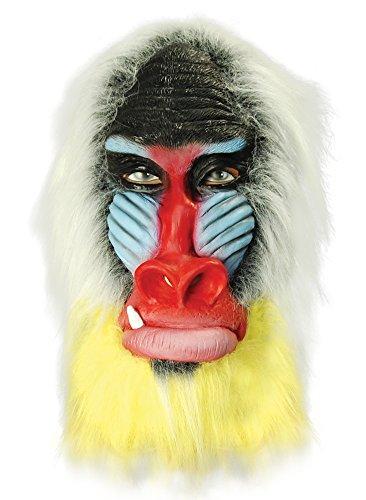 Latex-Maske Pavian Rubber Mask (Pavian Maske)
