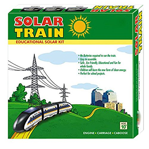 Casotec Solar Bullet Train Educational DIY Kit  available at amazon for Rs.399