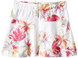 NAME IT Mädchen Rock Iro Mini Skirt X - sp15, Geblümt, Gr. 104, Mehrfarbig (Bright White)
