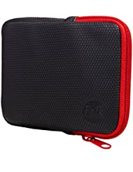 Falk Schutztasche für Fahrrad Navigationsgerät schwarz/rot, 540115