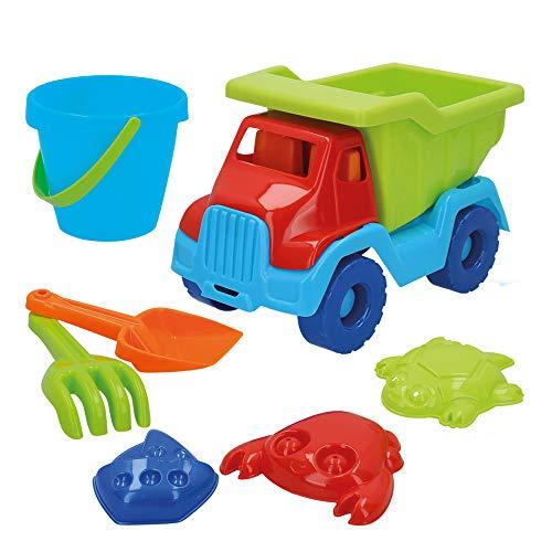 ColorBaby- Set de Playa: 1 camión Remolque