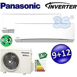 CLIMATISATION PANASONIC Inverter R32 FREE MULTI Bi-split A++ A+ 2,5+3,5 kw TZ