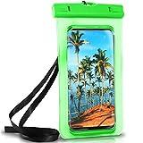 ONEFLOW Wasserdichte Hülle Full Cover in Grün 360° Unterwasser-Gehäuse Touch Schutzhülle Water-Proof Handy-Hülle für Samsung Galaxy S9 S9-Plus S8 S8-Plus S7 S7-Edge S6 S5 S Case Handy-Schutz