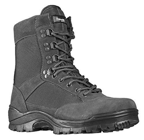 Mil-Tec Tactical Boots m. YKK Zipper Urban Grey Gr.12/EU45