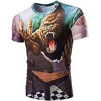 Imprime Short-Sleeve CAMISETA_Men del modelo 3D Slim Short-Sleeve Camiseta,XL