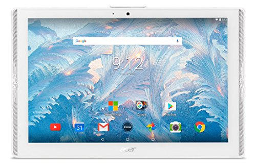 Acer Iconia One 10 (B3-A40) 25,7 cm (10,1 Zoll HD IPS Multi-Touch) Multimedia Tablet (MediaTek Quad-Core Cortex A35, 2 GB RAM, 32 GB eMMC, Android 7.0) weiß (Acer Tablet Android)