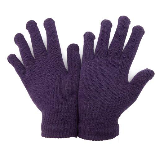 Magic Gloves Handschuhe für Erwachsene Einheitsgröße,Lila (Herren-magic-handschuhe)