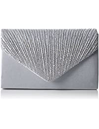 Swankyswans Abby Diamante Envelope Style Bag - Bolso Mujer