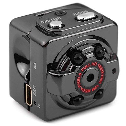 Mini Kamera mit Bewegungserkennung, 1080P HD Kleinen Kamera/Spy Cam/Bewegungs Kamera/Kamera für Zuhause/Mini-überwachungskamera mit Batterie Versteckte Kamera mit Nachtsichtgerät/Dashcam Loop Aufnahme