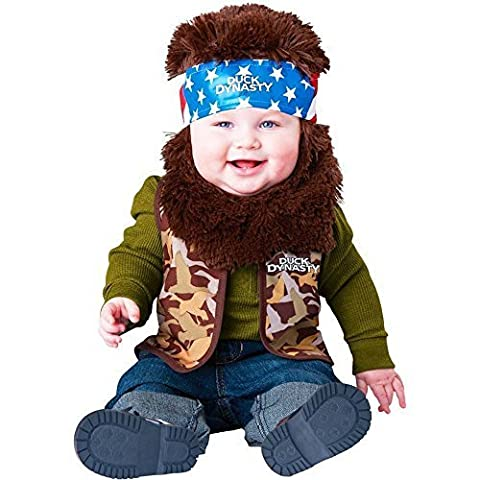 Dynastie De Duck Duck Costume - Duck Dynasty: Willie Toddler Costume - 18