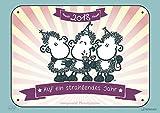 Sheepworld 2018 - ohne dich ist alles doof Kalender, Cartoonkalender, Broschürenkalender - 42 x 29,7 cm