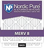Nordic Pure MERV 8 Honeywell Replacement Air Filter, Box of 1 by Nordic Pure