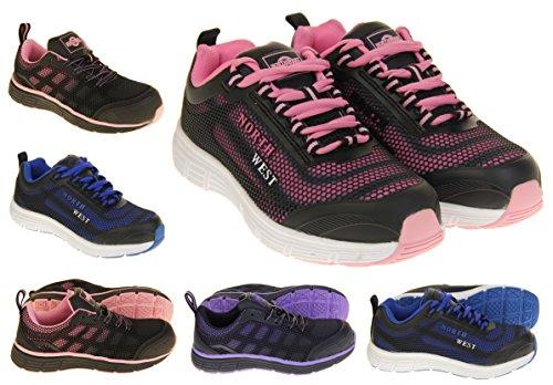 Footwear Studio Northwest Territory Ottawa Huile Résistant Embout D'Acier Chaussures Sécurité Femmes